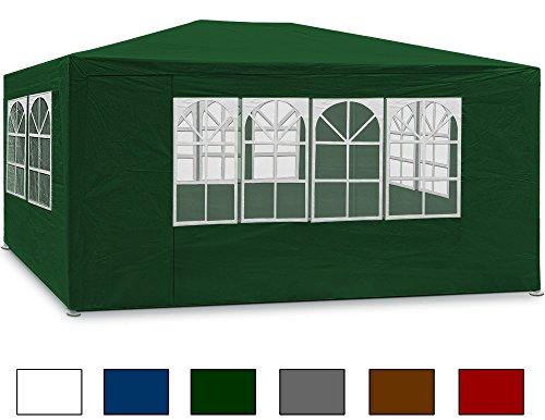 Festzelt-Maui-3x4-25m-Grn-Bierzelt-Partyzelt-Gartenzelt-Pavillon-Zelt-Gartenpavillon