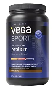 Vega Sport Performance Protein, 29 oz Tub, Chocolate (FFP)