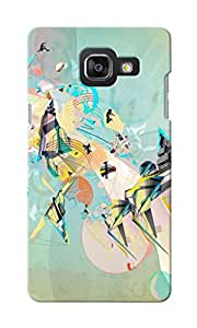 CimaCase Sports Abstract Designer 3D Printed Case Cover For Samsung Galaxy A5 2016