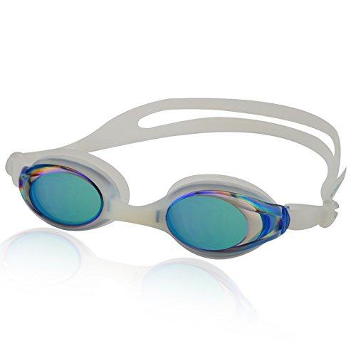 Occhialini da nuoto BARRACUDA, 100% protezione UV + anti appannamento, Forte nastro in silicone + Scatola resistente. Ottima qualità! Grande disponibilità di colori