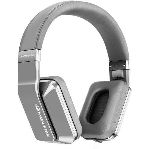 Monster Inspiration Noise Canceling Headphones (Silver)