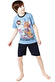 Moshi Monsters Short Pyjamas