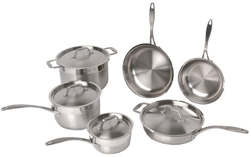 BergHOFF Earthchef Professional Copper Clad 10-Piece Cookware set