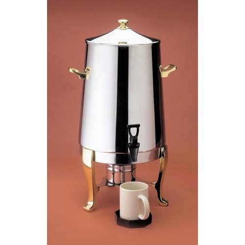 Calmil Stainless Coffee Urn With Fuel Pot, 520 Ounce -- 1 Each.