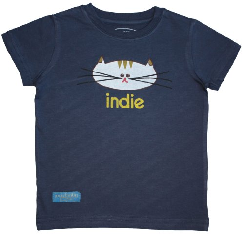 Indie T-Shirt - Midnight Blue (Size 4T) - 1