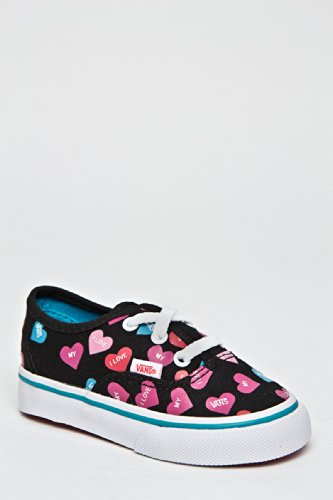 Vans Toddler's Authentic Candy Hearts Sneaker