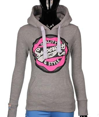superdry hoodie damen kapuzenpullover pop colour xxs. Black Bedroom Furniture Sets. Home Design Ideas