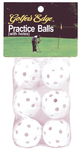 Unique Sports Practice Golf Balls (Pack of 6)