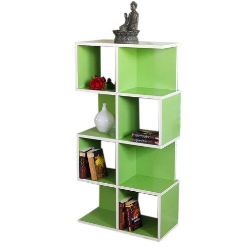 Modul-Regal Standregal M73, 124x62x28 cm ~ grün günstig kaufen