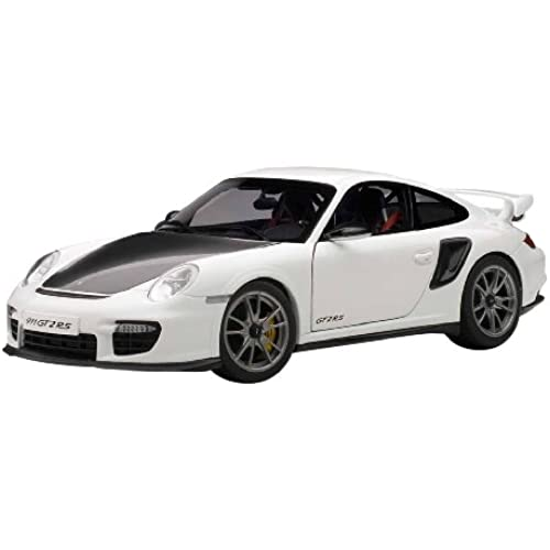 AUTOart 1/18 포르쉐 911 (997) GT2 RS (화이트)-77963 (2014-01-18)