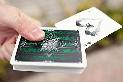Artifice Deck - Performance Coated Playing Cards (2nd Edition) by Ellusionist - Emerald Green - 1