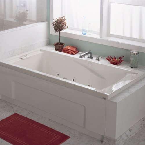 american standard evolution 5 feet by 36 inch deep soak whirlpool bath tub with. Black Bedroom Furniture Sets. Home Design Ideas