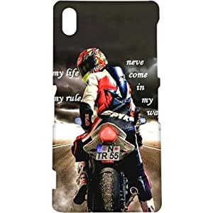 Crackndeal 85QUOCXZ2 Back cover for Sony Xperia Z2, (Multi-coloured)