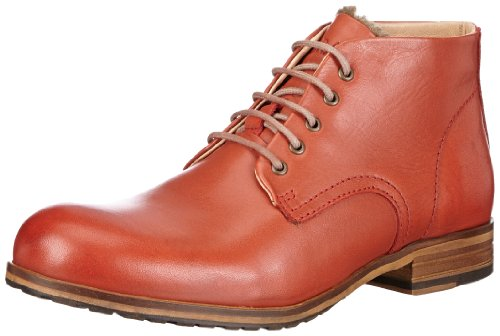 NOBRAND Womens Clinton Chukka Boots Red Rot (rust) Size: 37