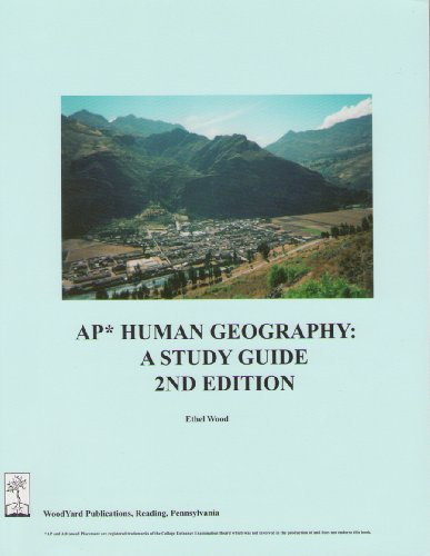 AP Human Geography: A Study Guide, 2nd edition by Ethel Wood (2009-09-10) (Ethel Wood Ap Human Geography compare prices)