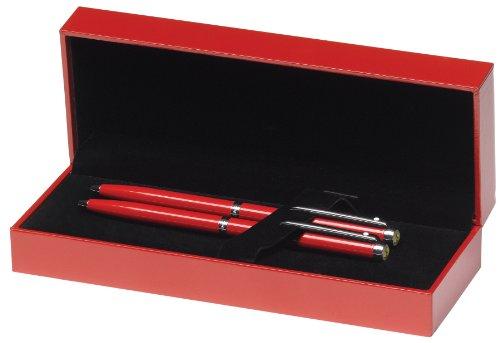 Sheaffer Serie Scuderia Ferrari 300 - Cofanetto con penna a sfera e matita