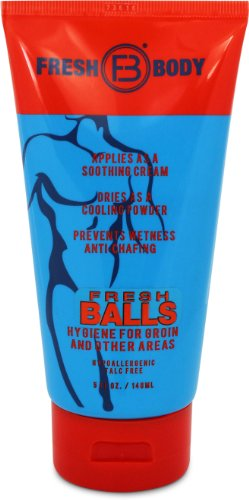 Fresh Balls Lotion The Solution For Men - 5 Oz Tube
