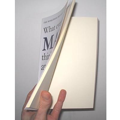 Livre composé que de pages blanches ! 411rAoEHWrL._SS400_