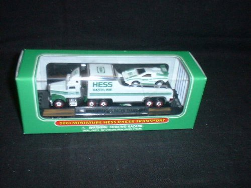 2001 Miniature Hess Racer Transport - 1