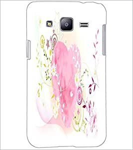 PrintDhaba Heart D-2122 Back Case Cover for SAMSUNG GALAXY J2 (Multi-Coloured)