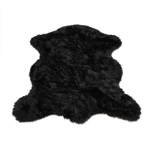 Black Bear Pelt | Bear Collection | Faux Fur Rug | 5 foot X 7 foot