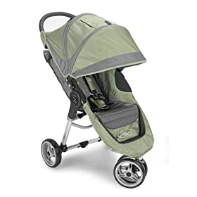 Baby Jogger City Mini Jogging Strollers - Green-Grey