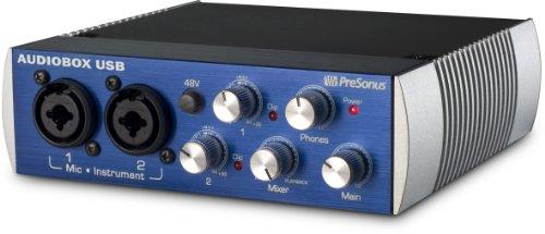 PreSonus プリソーナス オーディオ・インターフェイス 2イン2アウト AudioBox USB(DAWソフトStudio One Artist2付属)