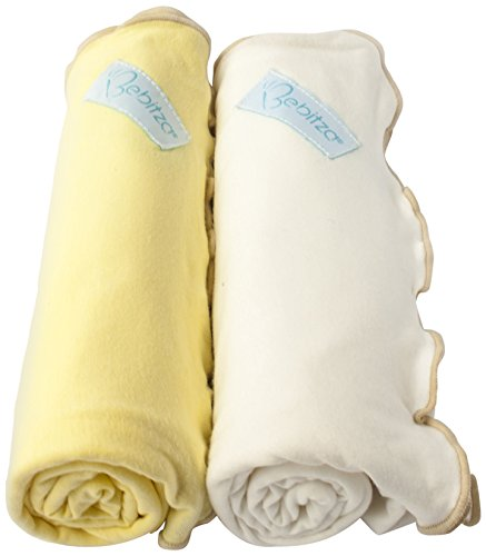 Primo Bebitza Antibacterial Baby Wraps, Canary Yellow/White