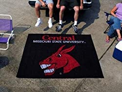 Central Missouri State Mules 5'x6' Tailgater Floor Mat (Rug)