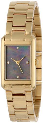 kate spade new york Women's 1YRU0065 Gold Bracelet Crystal Marker Waldorf Watch