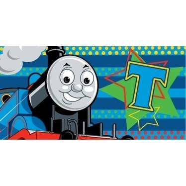 Childrens/Kids Thomas The Tank Engine Bath/Beach Towel (70 x 140 cm) (Blue)