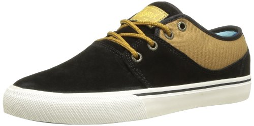 Globe Unisex-Adult Mahalo Skateboarding Shoes 24574 Black/Brown 9 UK, 43 EU