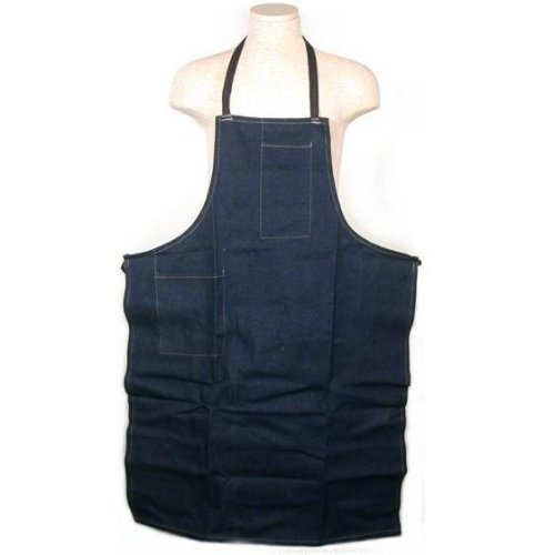 Denim Shop Apron Jeweler Craft Barbeque Kitchen Cooking
