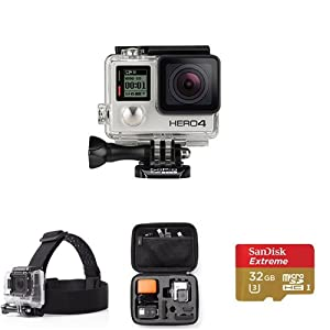 GoPro HERO4 Silver - Accessories Bundle