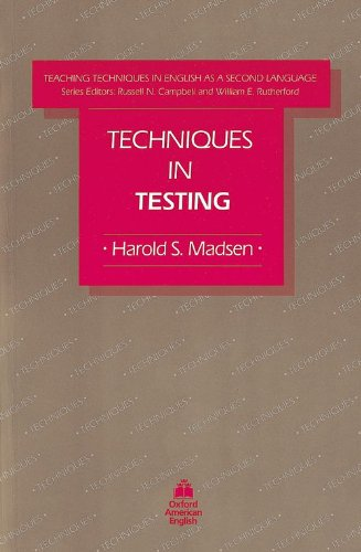 Techniques in Testing (Teaching Techniques in English As...