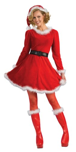 Rubie's Costume Women's Mrs. Claus Dress