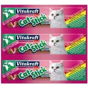 20er Pack Vitakraft Cat Cat-Stückick mini Ente&Kaninchen