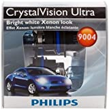 Philips 9004 CrystalVision Ultra Headlight Bulb, Pack of 2