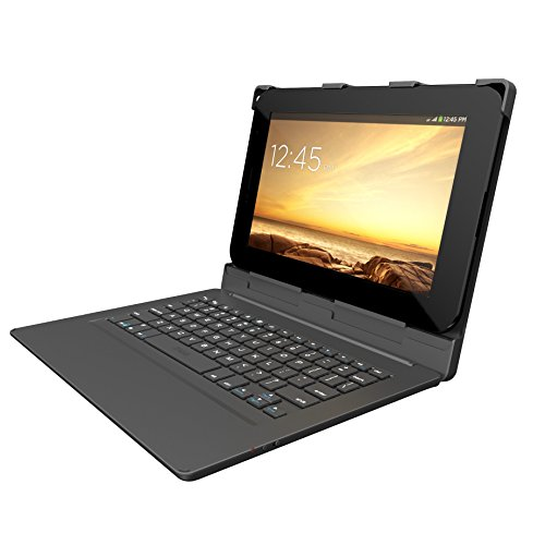 Keyboards ZAGG Folio Case, Hinged With Bluetooth Keyboard For Android Tablets 7-inch