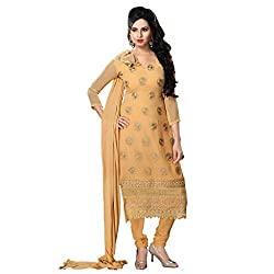 KALYANNAM YELLOWGeorgatte embroidery DRESS MATERIALS