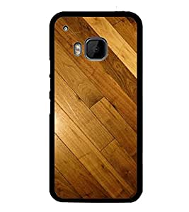 Fuson Premium 2D Back Case Cover Designed wood With Multi Background Degined For HTC One M9::HTC M9::HTC One Hima