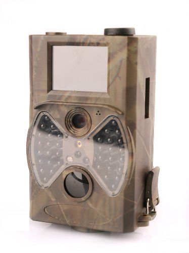 """GemTune G-300 Wildkamera , mit Fernbedienung und 36 unsichtbaren LEDs, 2"""" Farbdisplay, Wildüberwachung für Jäger"""