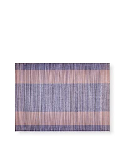 KAF Home Set of 4 Bamboo Placemats, Periwinkle