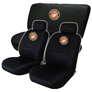 States Marine Corps USMC Low Back Seat Cover Amp Bench Cover