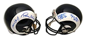 Fearsome Foursome Replica Full Size NFL Helmet Autographed - Autographed NFL Helmets