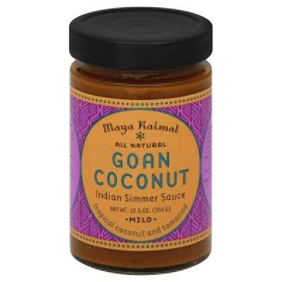 Maya Kaimal All Natural Indian Simmer Sauce - Goan Coconut - 12.5 oz (Indian Curry Simmer Sauce compare prices)