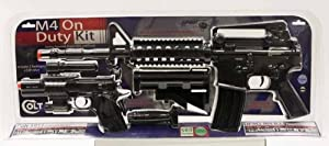 DPMS M4 On Duty Kit w/ Spring 1911 Pistol