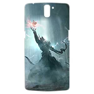 a AND b Designer Printed Mobile Back Cover / Back Case For OnePlus One (1Plus1_3D_1088)