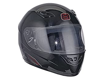 Casque Speeds Integral Performance II noir brillant taille L