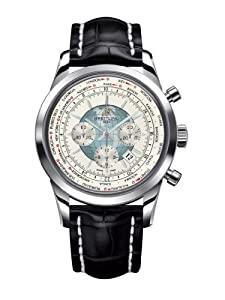 Breitling Mens Transocean Chronograph UnitimeWatch Features World Time AB0510U0/A732-760P